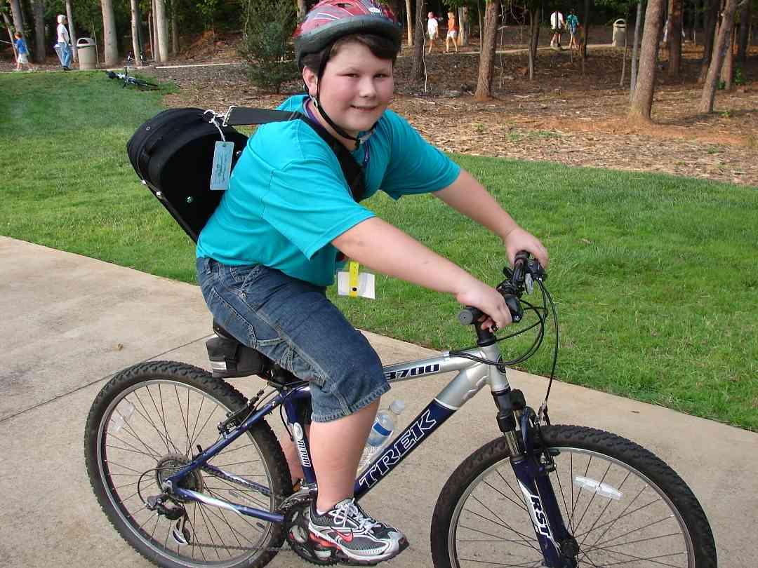 Biking to South Carolina Suzuki Institute