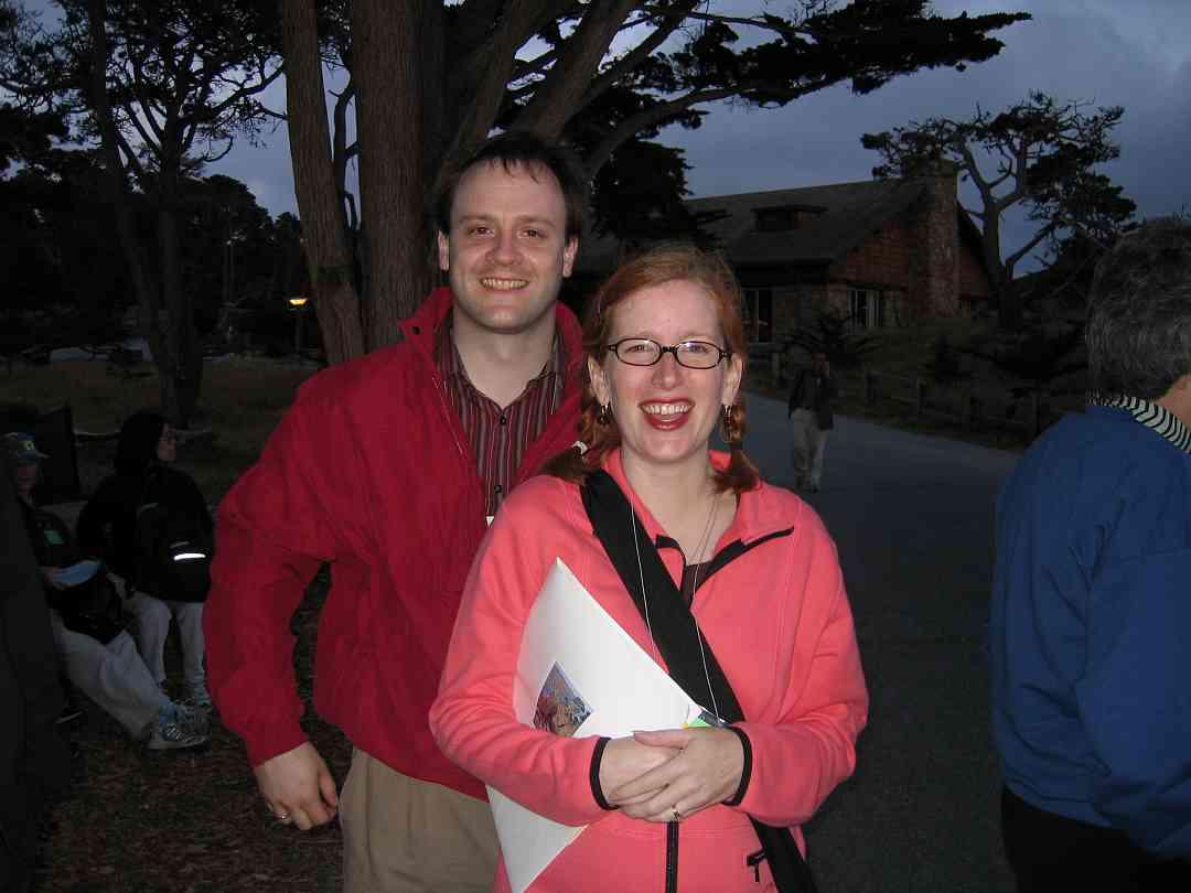 Blake and Reagan Brasch at the 2005 SAA Leadership Retreat
