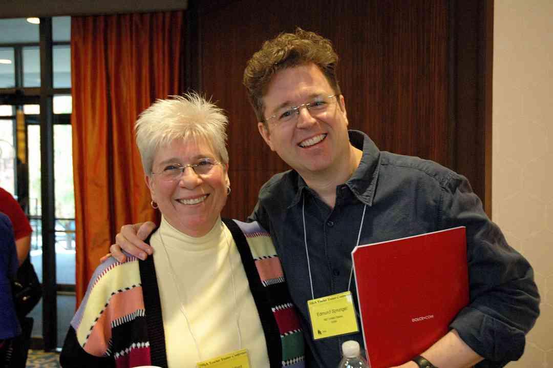 Martha Shackford and Ed Sprunger