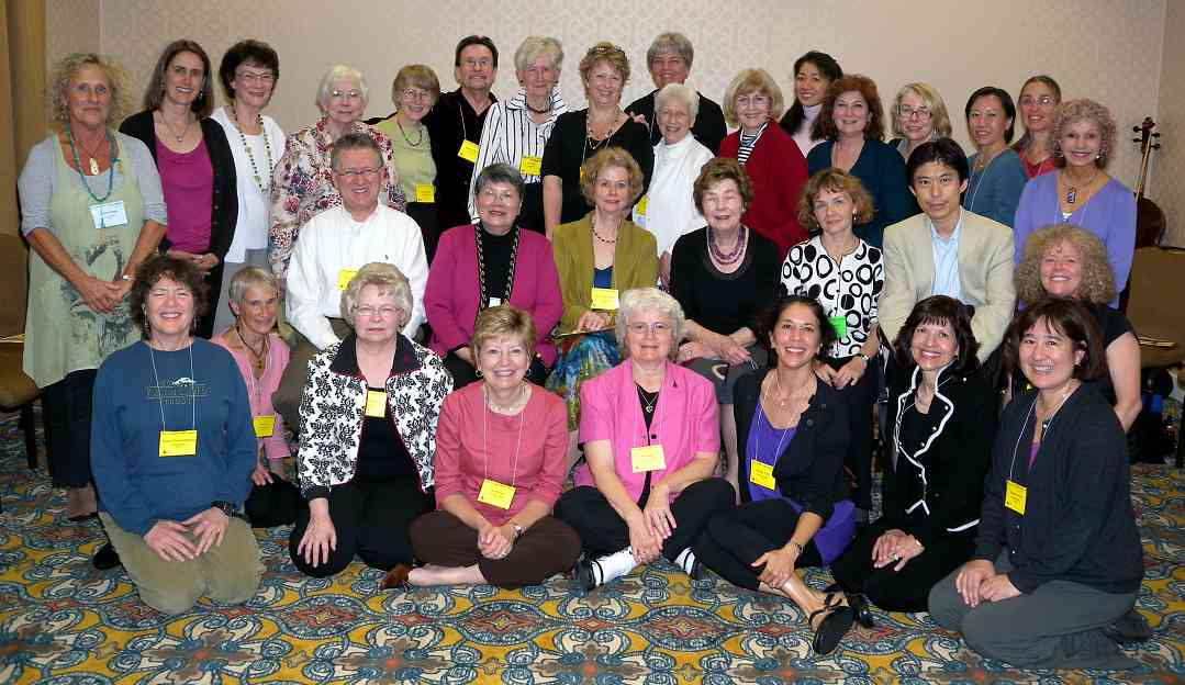 ISA Piano Teacher Trainers at the 2009 Conference