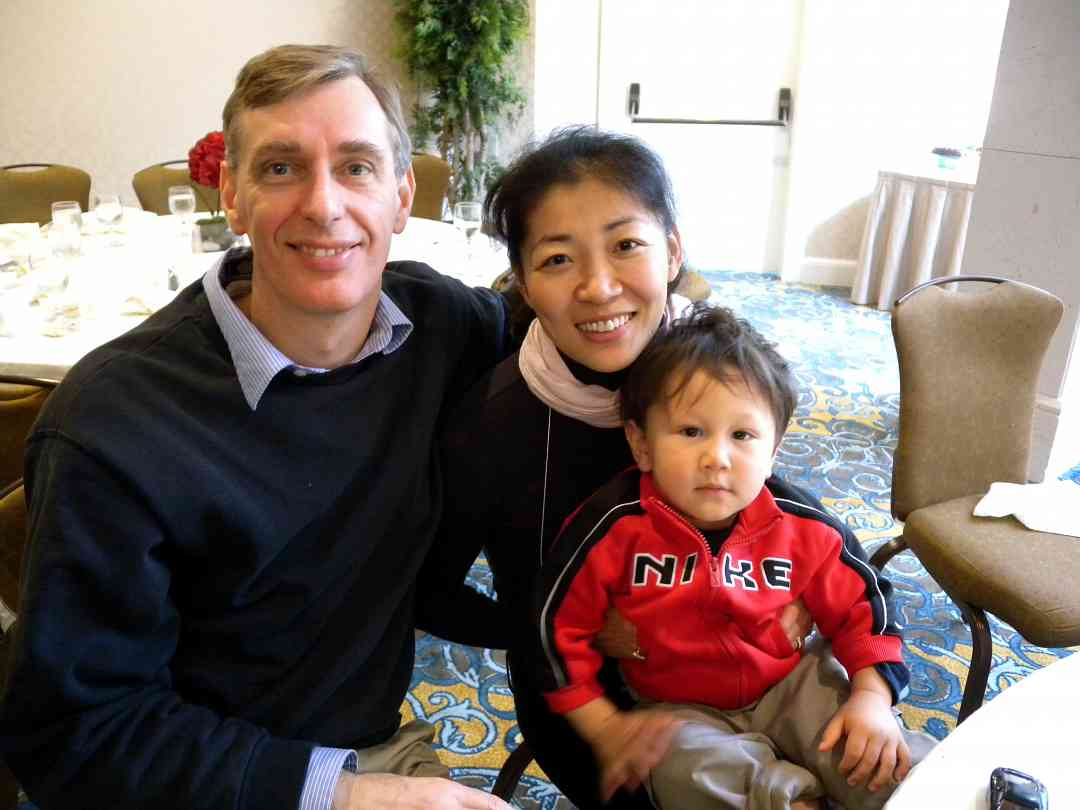 Hikari Nakamura and family