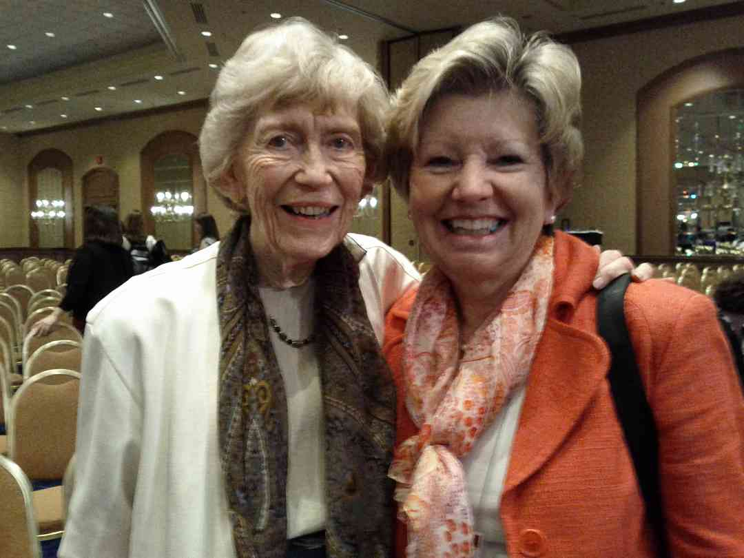 Mrs. Connie Starr & Fay Adams