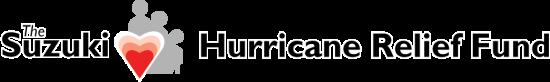 Suzuki Hurricane Relief Fund Logo