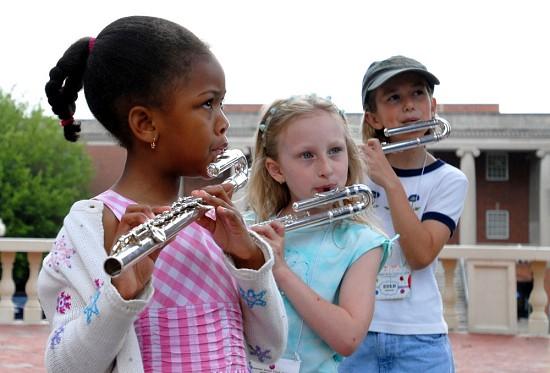 Suzuki flute students