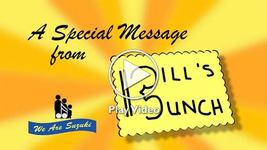 Bills Bunch Video Play Screen