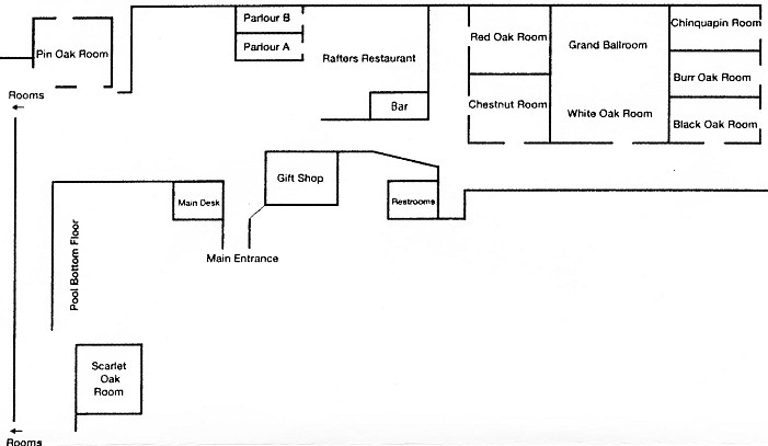 Deer Creek—Lodge Map