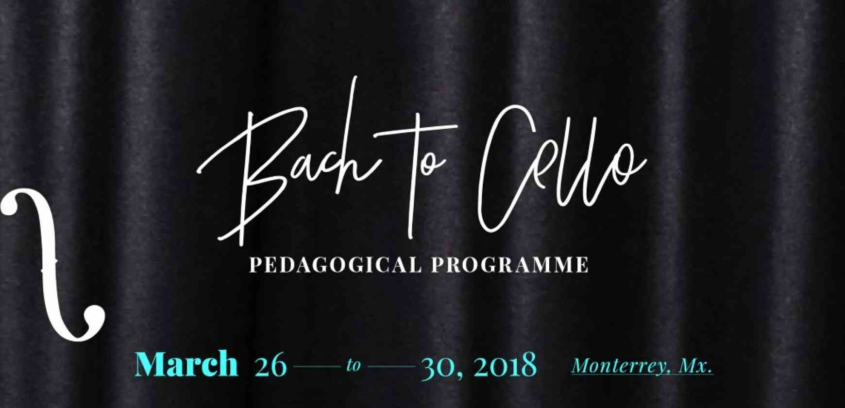 Bach to Cello / Jornadas Pedagógicas