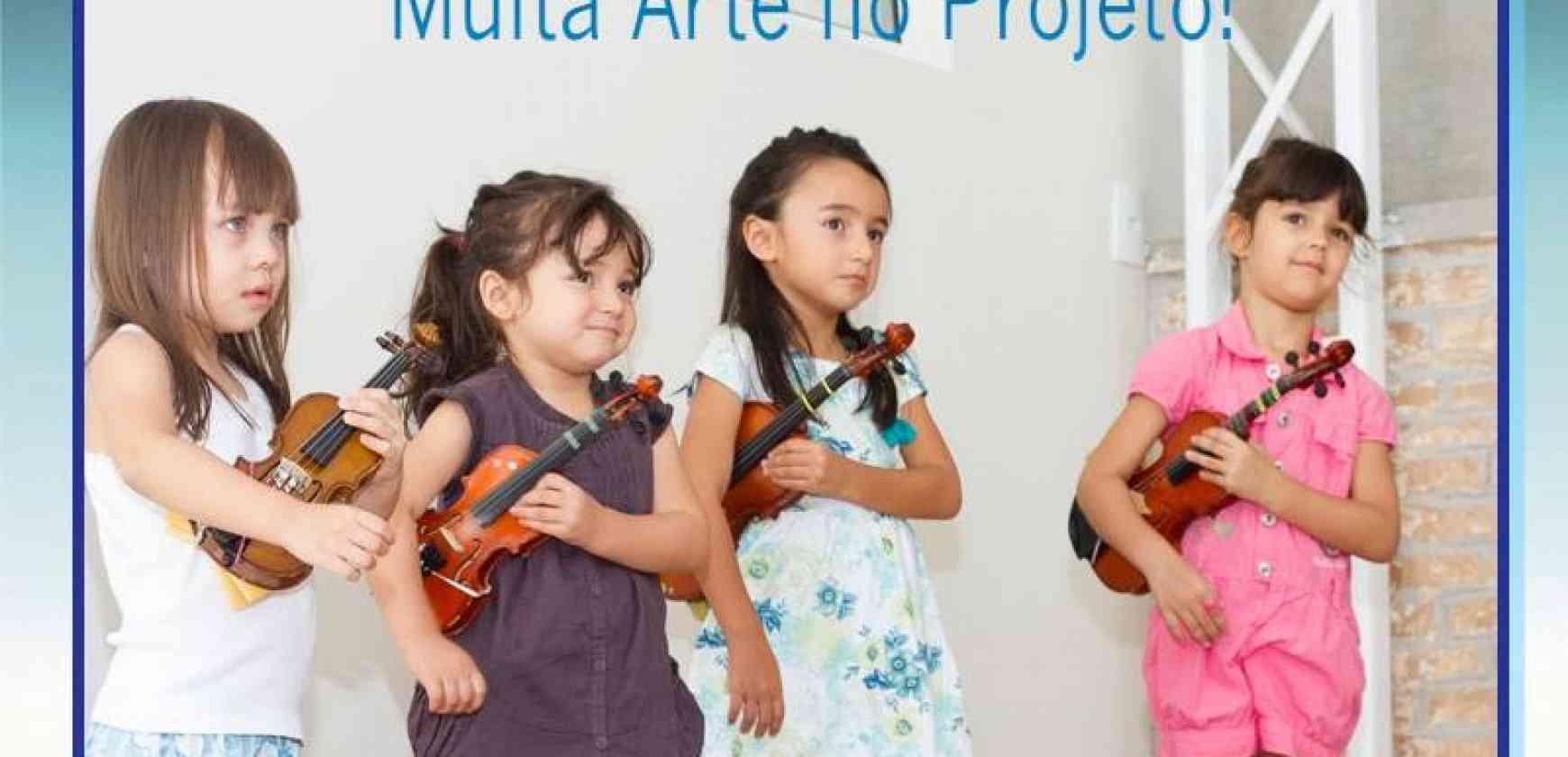 Escola de Música Suzuki de São Paulo - Projeto Cordas & Cia