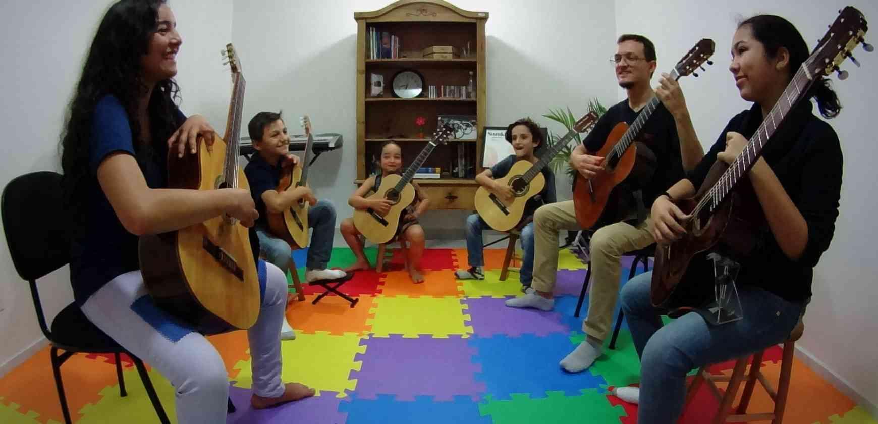 Estúdio de Violão Daniel de Lima