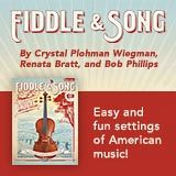Advertisement: Fiddle and Song by Alfred Music