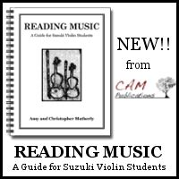 Advertisement: Click here for Reading music from CAM Publications