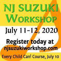 Advertisement: New Jersey Suzuki Workshop