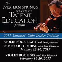 Advertisement: Western Springs School of Talent Education