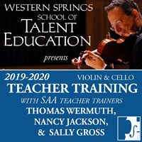Advertisement: Western Springs School of Talent Education