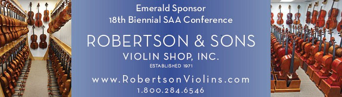 Advertisement: Robertson & Sons Violin Shop