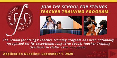 Advertisement: School for Strings