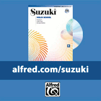 Advertisement: Alfred Publishing: Suzuki Method Books