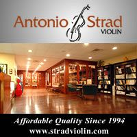 Advertisement: Antonio Strad Violin: Affordable Quality Since 1994