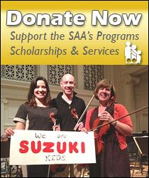 Advertisement: Donate Now: Support the SAA's Programs, S