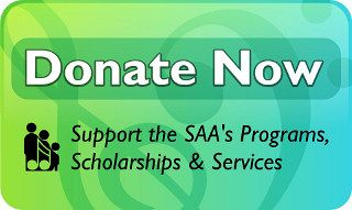 Advertisement: Donate Now: Support SAA's Programs, Scholarships & Services