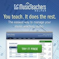 Advertisement: Music Teacher's Helper: You Teach. It does the rest. The easiest way to manage your music teaching studio -- try it free!
