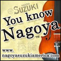 Advertisement: You Know Nagoya Violins: NagoyaSuzukiAmerica.com