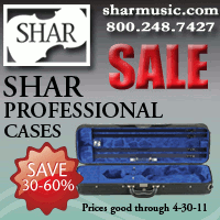 Advertisement: SHAR: Sale on Professional Cases, Save 30-60%