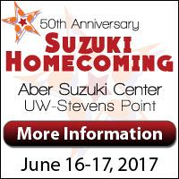 Advertisement: American Suzuki Institute