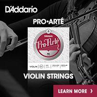 Advertisement: Daddario: Pro Arte