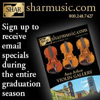 Advertisement: Shar Music