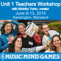 Advertisement: Music Mind Games: Unit 1 Teachers Workshop
