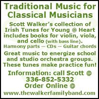 Advertisement: Walker Family Band Fiddle Camp