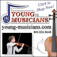 Advertisement: Young Musicians: Click to shop now!