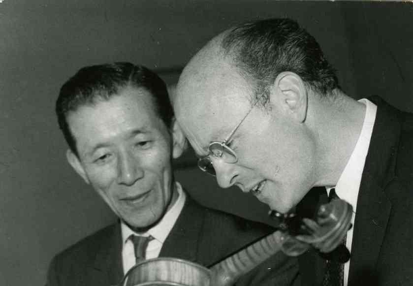 Dr. Shinichi Suzuki and John Kendall