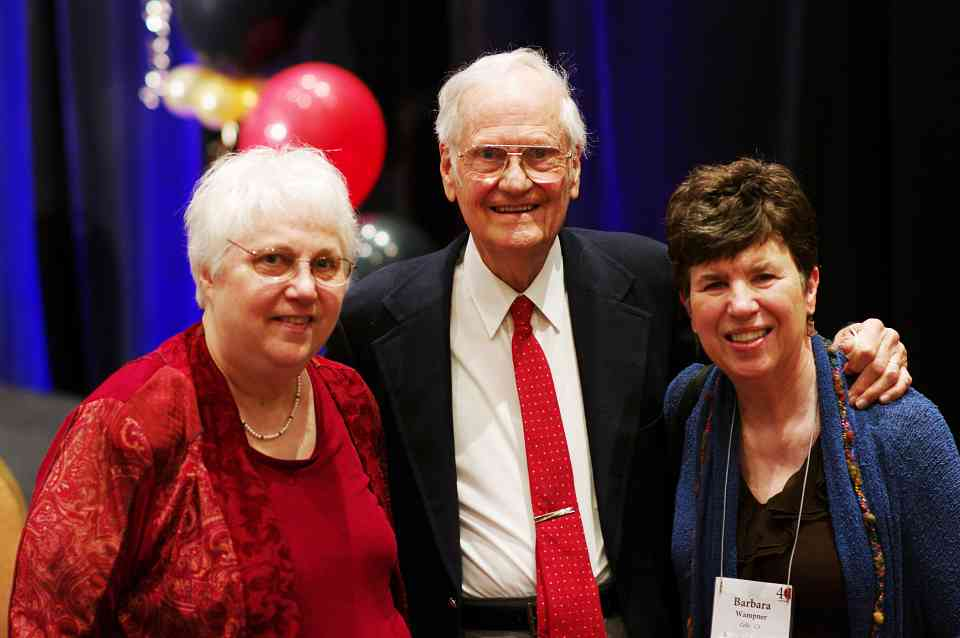 Gilda Barston, Bill Starr, and Barbara Wampner at the 2012 Conference