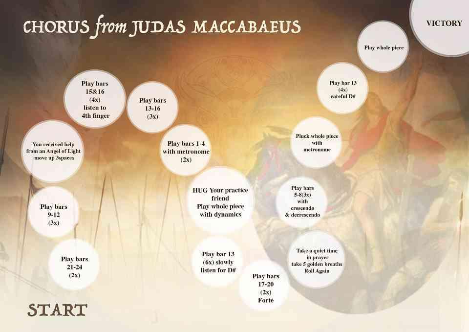 Chorus from Judas Maccabaeus
