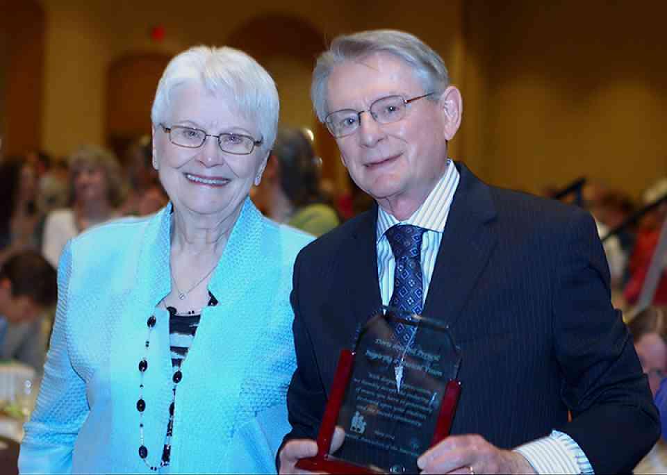 Doris and Bill Preucil