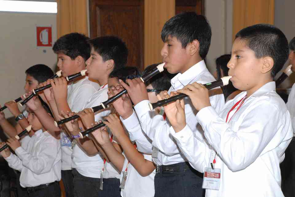 Recorder students