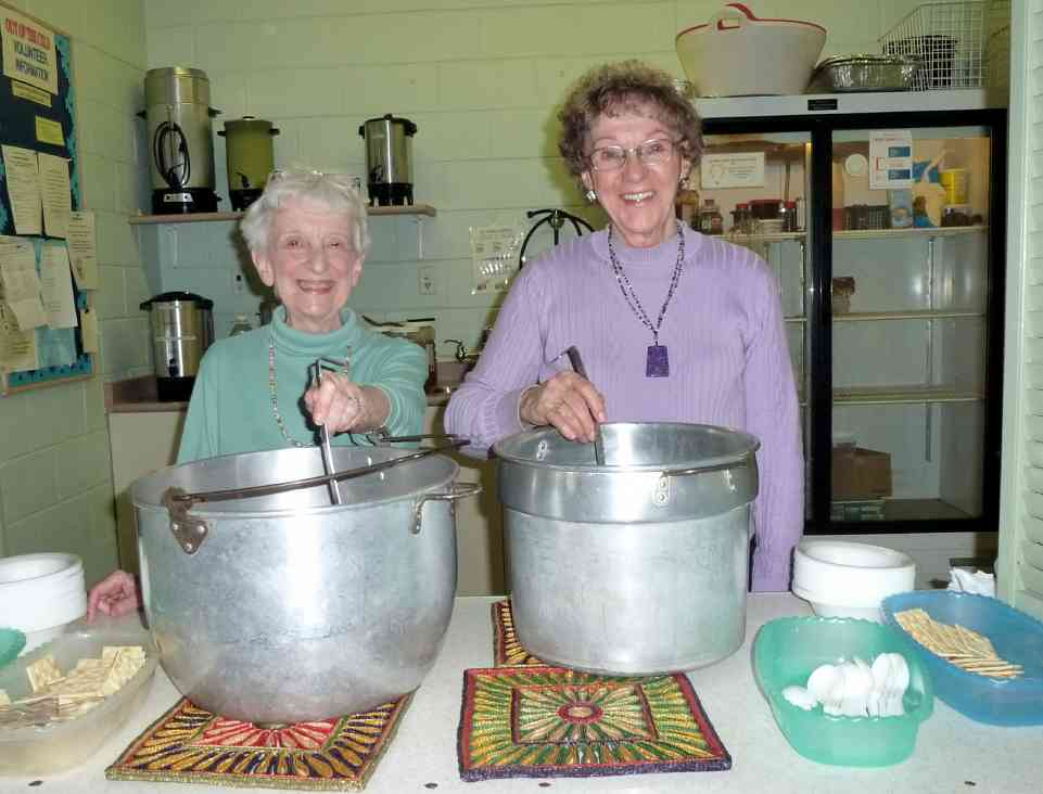 Members of the Central United Church of Barrie hosted a meal during the conference