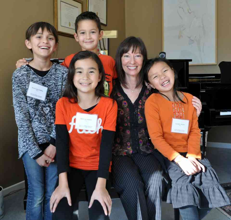 Piano master class with Maureen McReynolds
