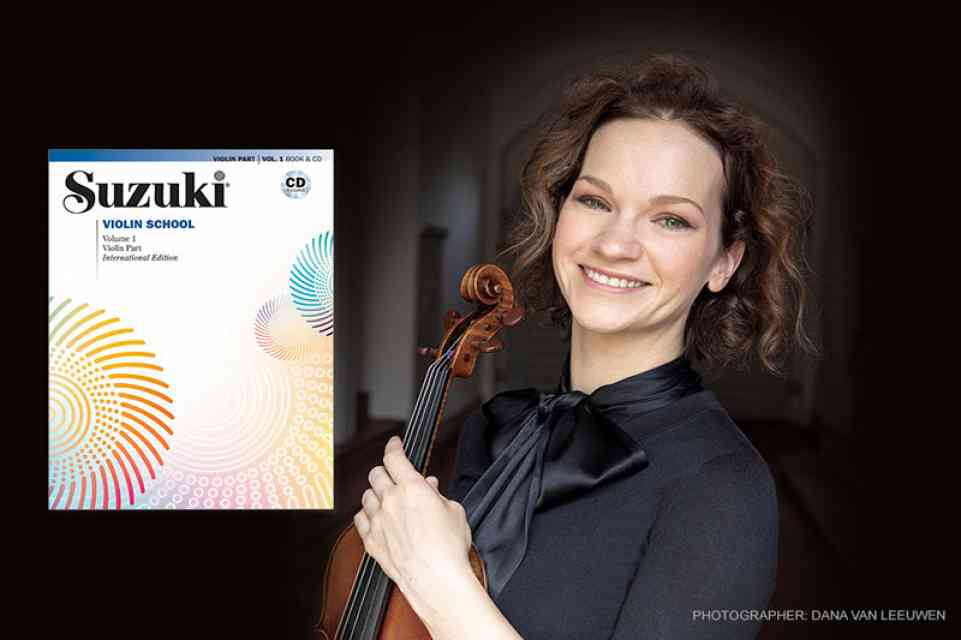 Suzuki Violin Recordings with Hilary Hahn and Natalie Zhu