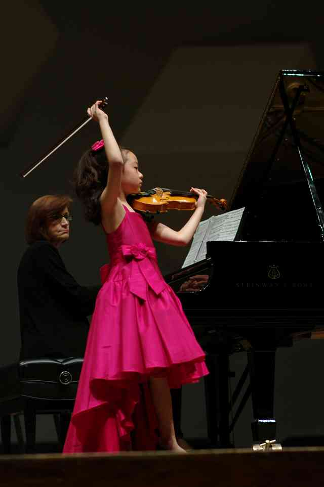 Yesong Sophie Lee performs in the Kaleidoscope Concert