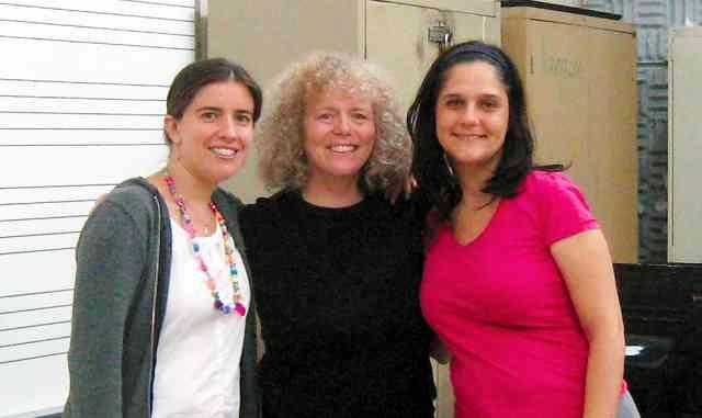 Lydia Mills, Caroline Fraser, and Marta Hernandez in Puerto Rico