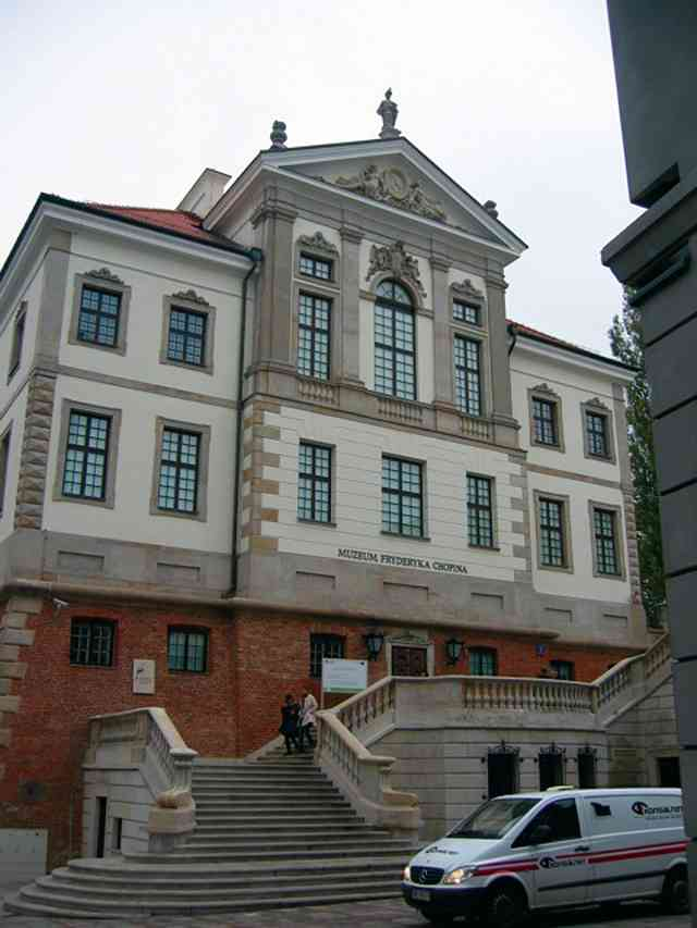 The Chopin Museum in Warsaw, Poland