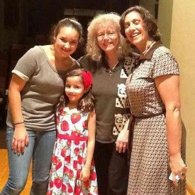 Ximena, Maria, Caroline Fraser & Leslie in Mexico