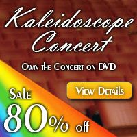 Advertisement: Kaleidoscope Concert - Sale 80% off