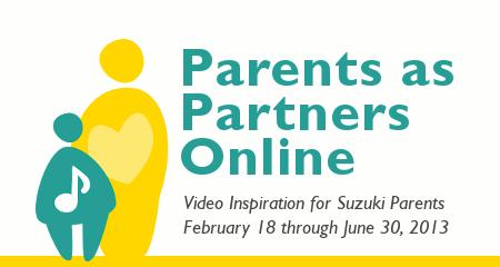Parents as Partners Online 2013