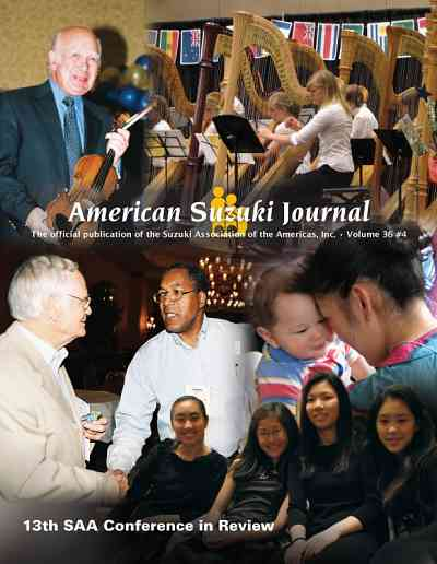 American Suzuki Journal volume 36.4