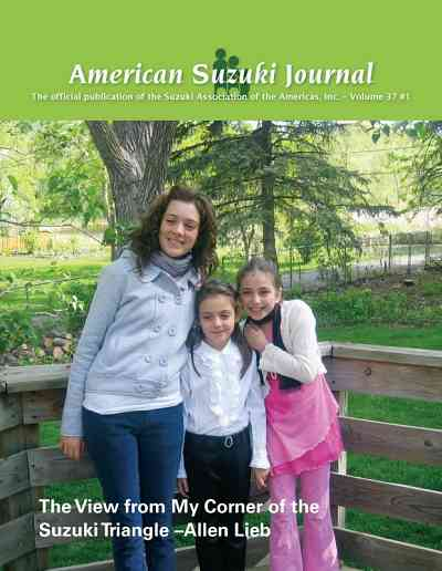 American Suzuki Journal volume 37.1