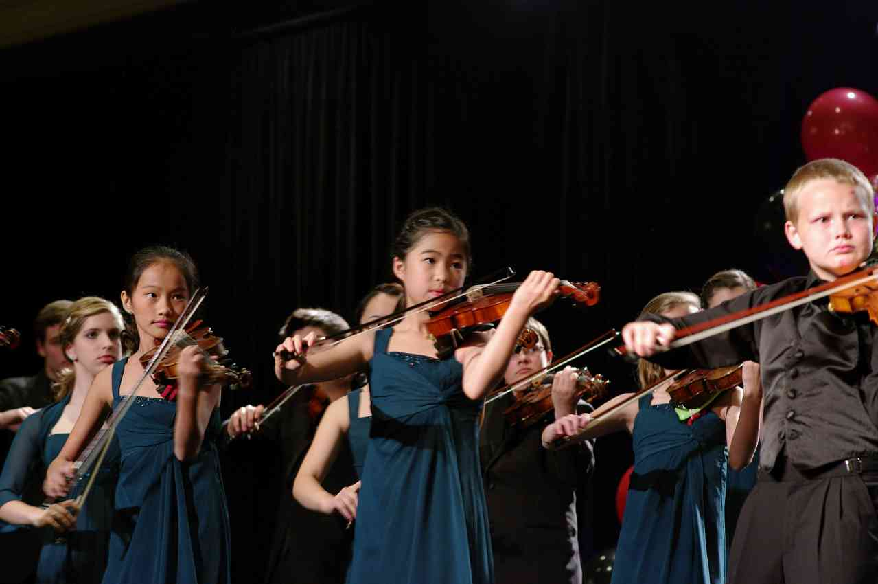 Harpeth Suzuki Strings performs in the International Ensembles Concert